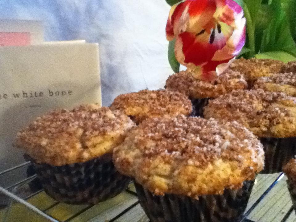 Sourdough Coffee Cake Muffins